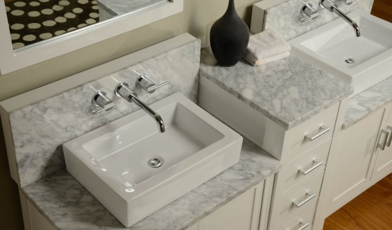 Bathroom Faucet For Undermount Sink infinity undermount convertible sinks | direct vanity sink